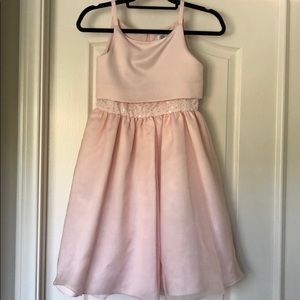 Us Angels blush colored girls dress. NWT